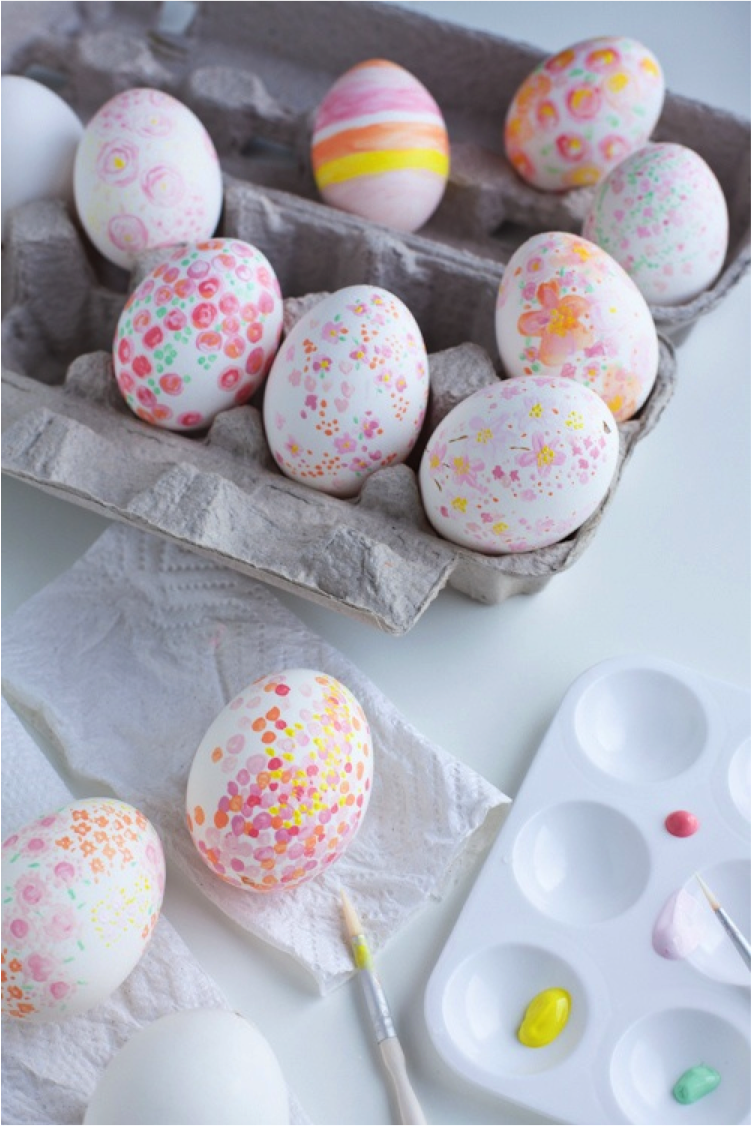 Rock it yourself get you easter game on this little for Diy paint