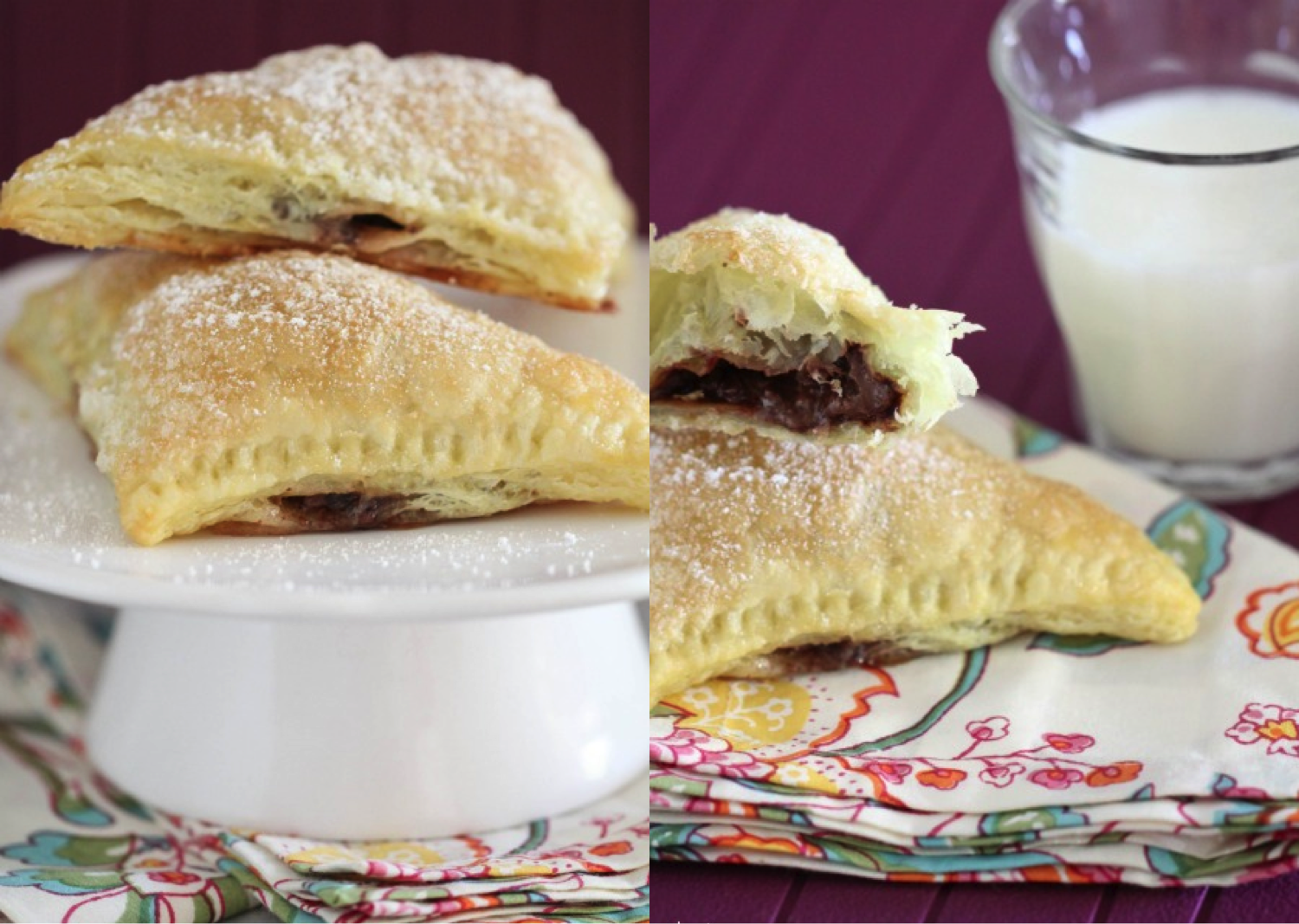 Nutella-Mallow Pillow Pockets Recipes — Dishmaps