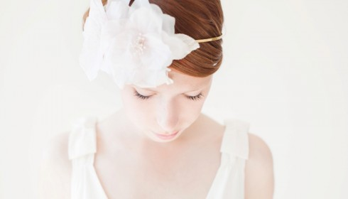 wedding headband by sibo designs