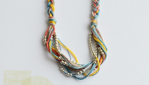 bloesem wears handmade necklace