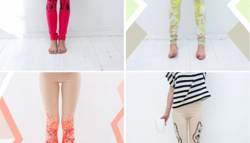funky leggings by VIB Textile