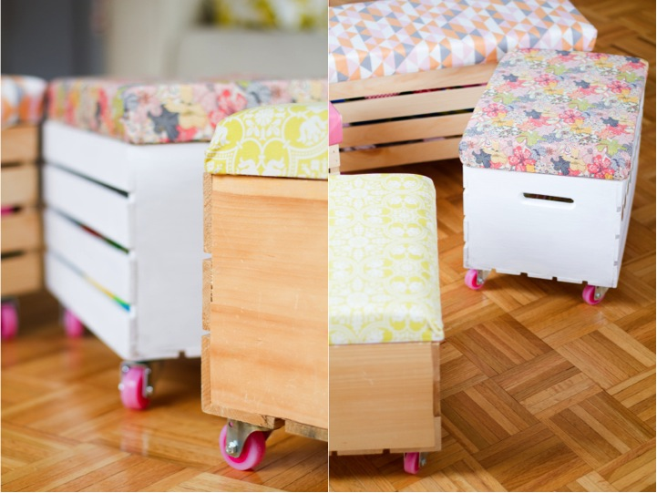 Rock it yourself} DIY toy box with casters | This Little street ...