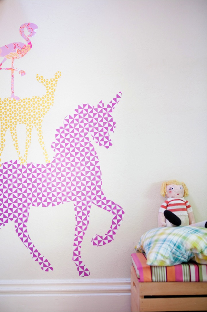 Unicorn Wall Decal Home Decor