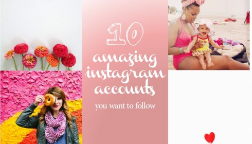 10 amazing instagram accounts