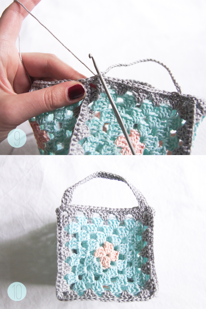 Diy Mini Granny Square Crochet Baskets Guest Post By Victoria From