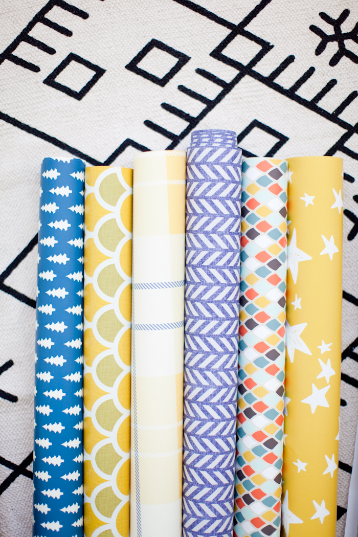 removable wallpaper from Spoonflower