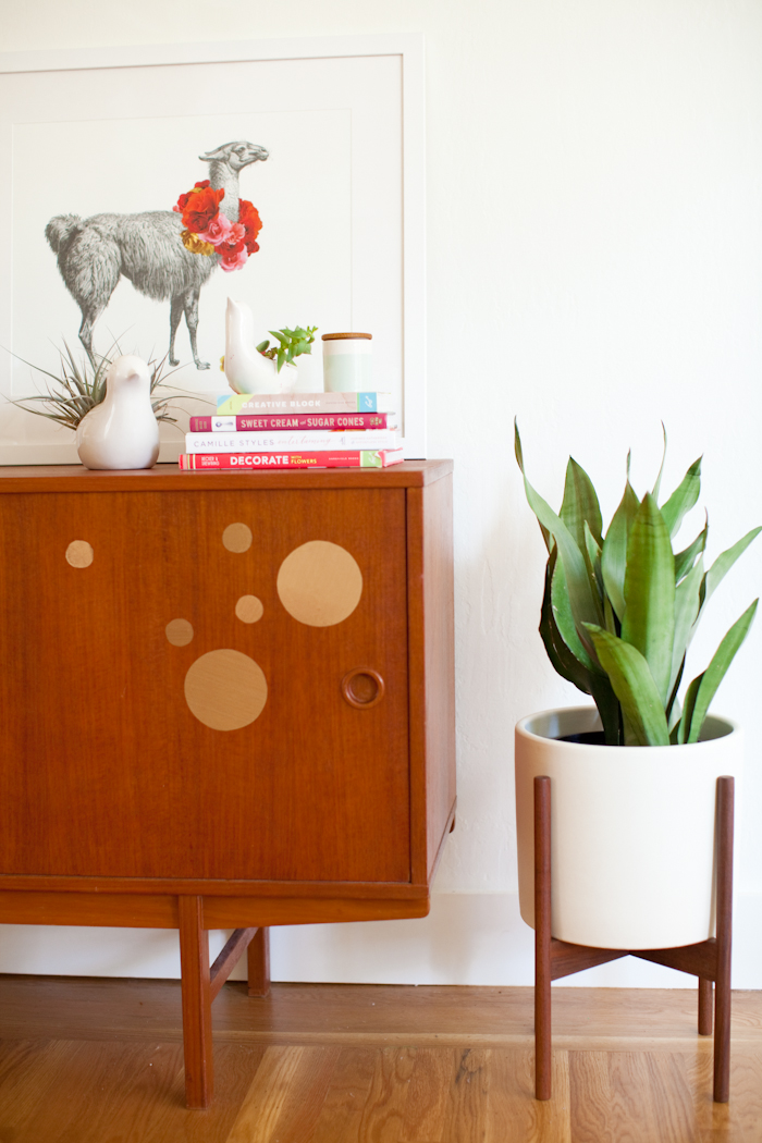 Mid-century modern planter from Modernica