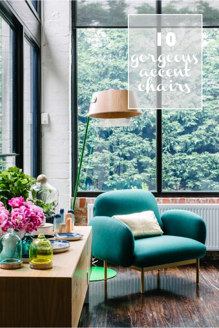 10 gorgeous modern accent chairs for your space