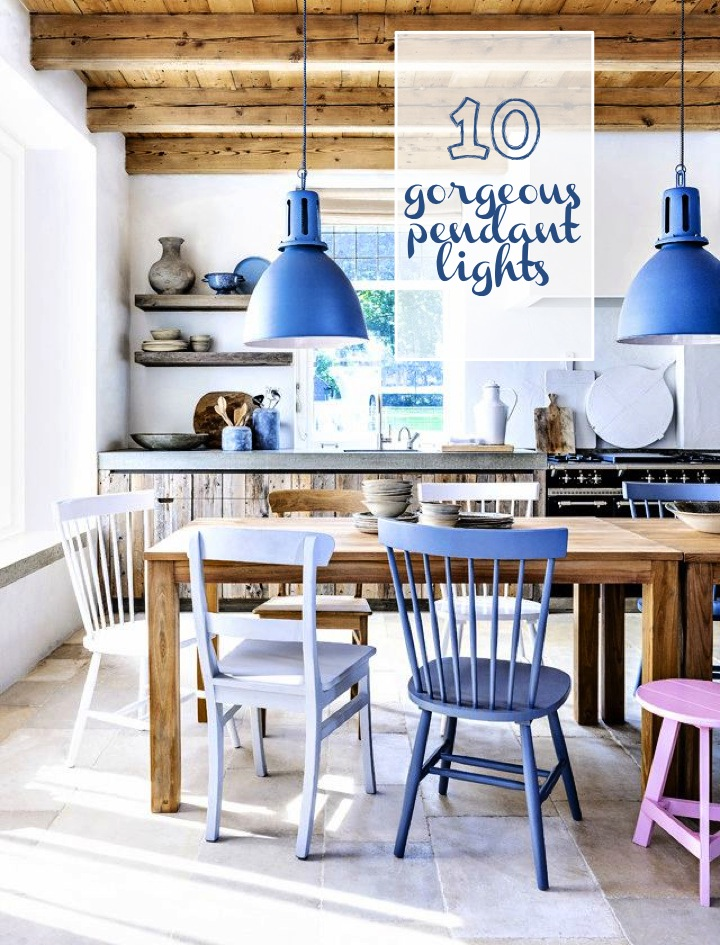 10 gorgeous pendant lights