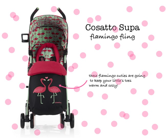 cosatto flamingo fling