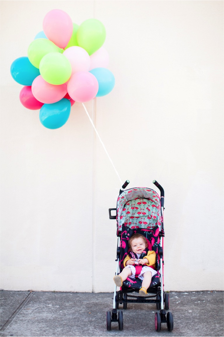 the flamingo fling stroller by Cosatto