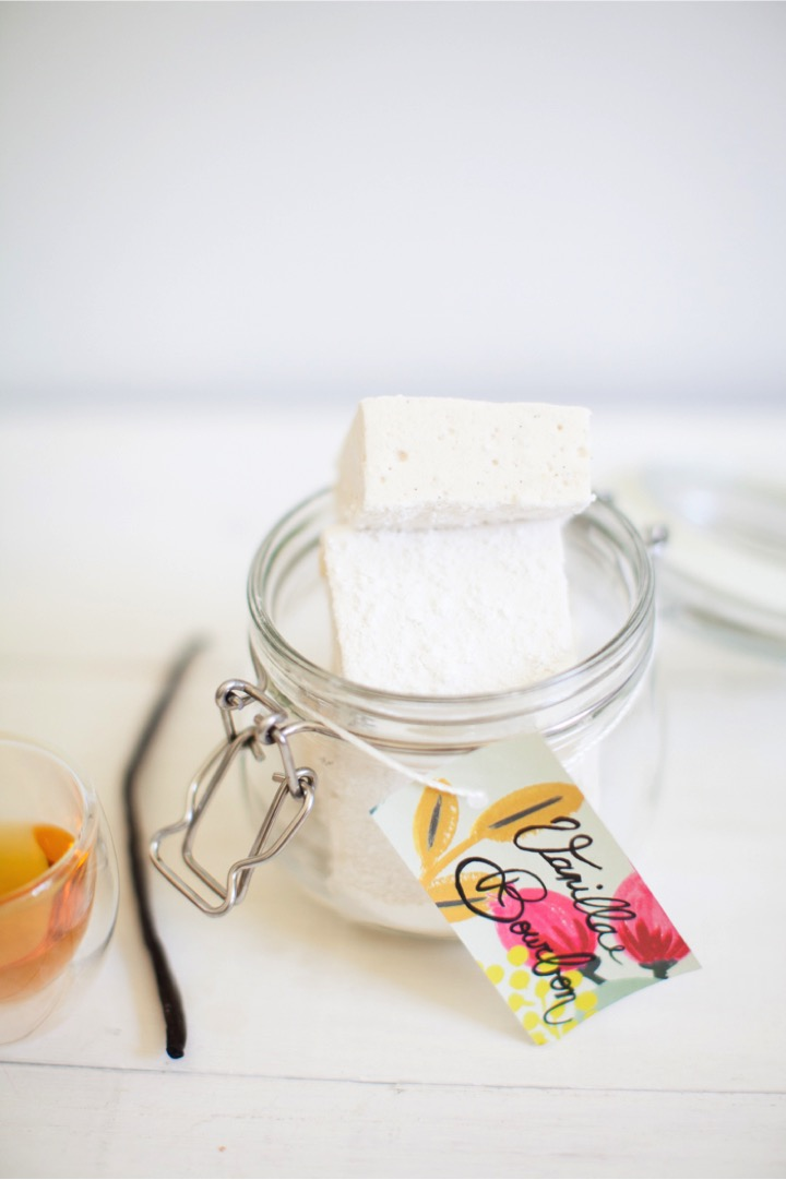 vanilla bean and bourbon marshmallows