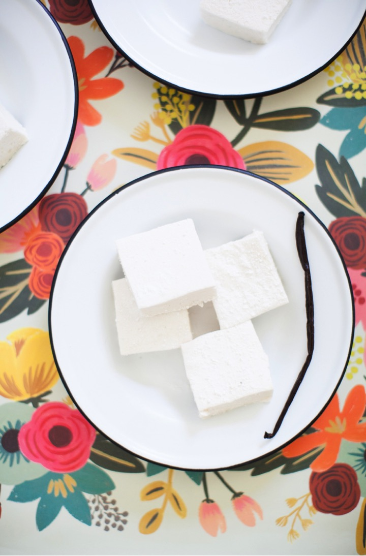 vanilla bean bourbon marshmallows