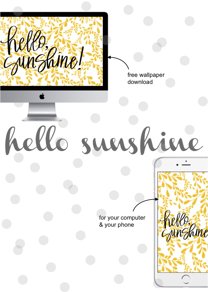 hello sunshine wallpaper download
