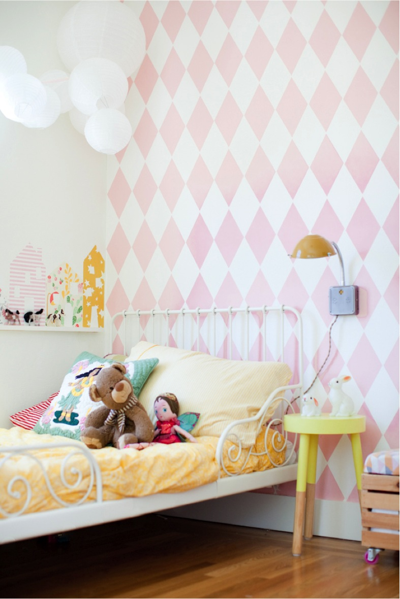 sweet little girl bedroom corner