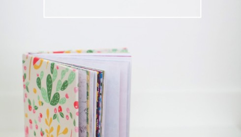 DIY reusable book covers made with fabric