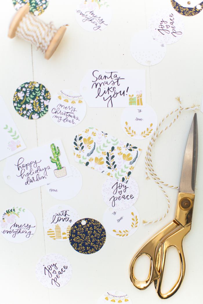 picture about Free Printable Holiday Tags named Totally free printable getaway present tags ♥ by way of TLS and Coco + Mingo