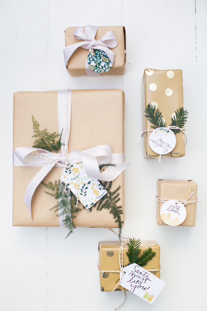 free printable holiday tags by This Little Street and Coco + Mingo