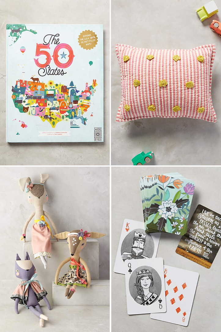 kids gifts at Anthropologie