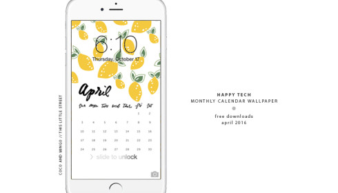 Happy Tech_wallpaper_April_phone